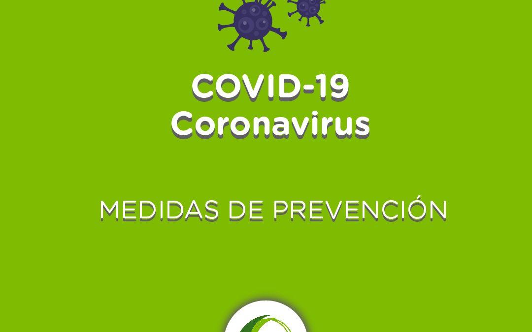 Medidas por Coronavirus (COVID – 19)
